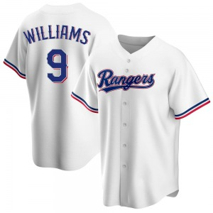 Youth Texas Rangers Ted Williams White Home Jersey - Replica